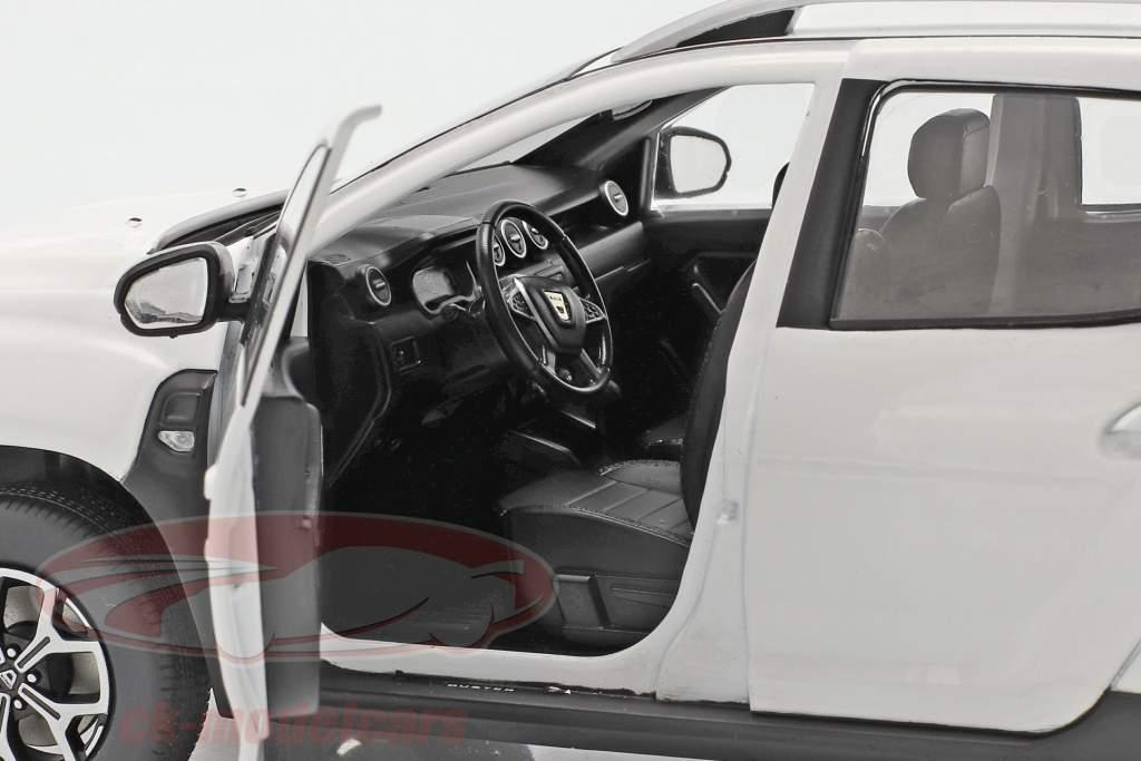 Dacia Duster MK2 Baujahr 2018 arktis weiß 1:18 Solido