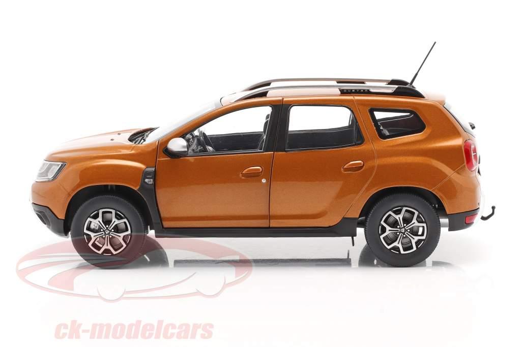Dacia Duster MK2 Año de construcción 2018 taklamakan naranja 1:18 Solido