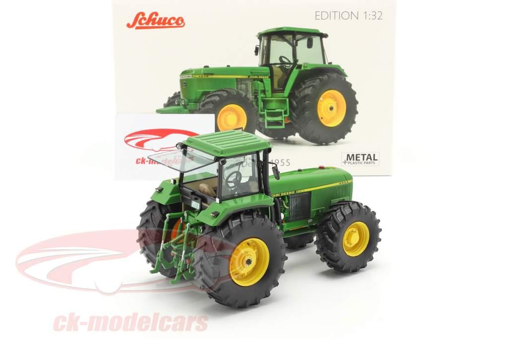 John Deere 4955 tractor Año de construcción 1989-1992 verde 1:32 Schuco