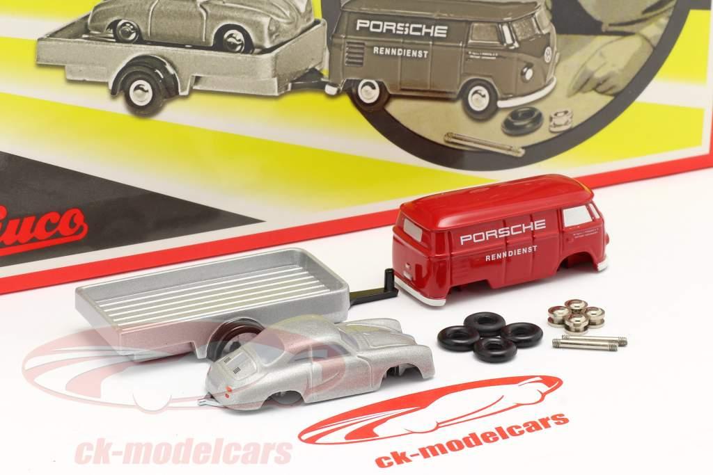 Porsche Servicio de carreras Caja de montaje por el pequeña Mecánico de carreras 1:90 Schuco Piccolo