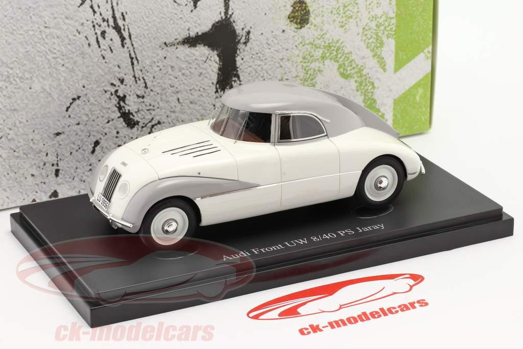Audi Front UW 8/40 PS Jaray Ano de construção 1934 Branco 1:43 AutoCult