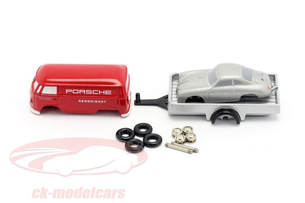Porsche Serviço de corrida Caixa de montagem Para a pequeno Mecânico de corrida 1:90 Schuco Piccolo