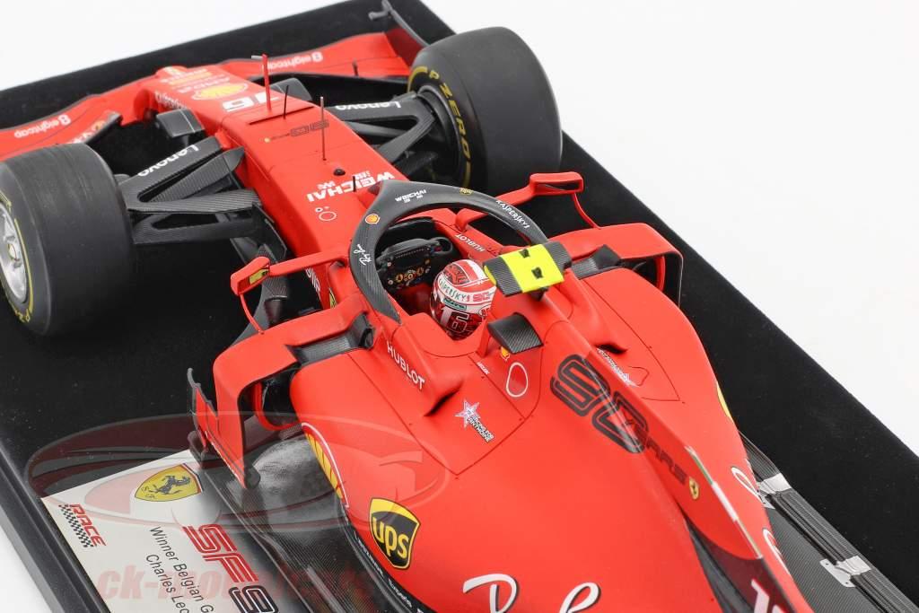 Charles Leclerc Ferrari SF90 #16 Gagnant Belgique GP formule 1 2019 1:18 LookSmart