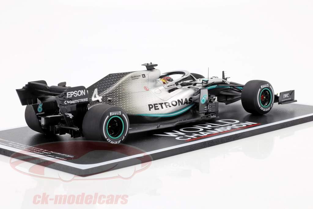 L. Hamilton Mercedes-AMG F1 W10 EQ Power  #44 Campione del mondo 2nd USA GP F1 2019 1:18 Scintilla