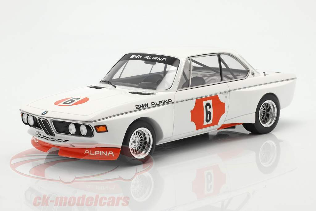 BMW 3.0 CSL #6 Winnaar 4h Monza 1973 Lauda, Muir 1:18 Spark