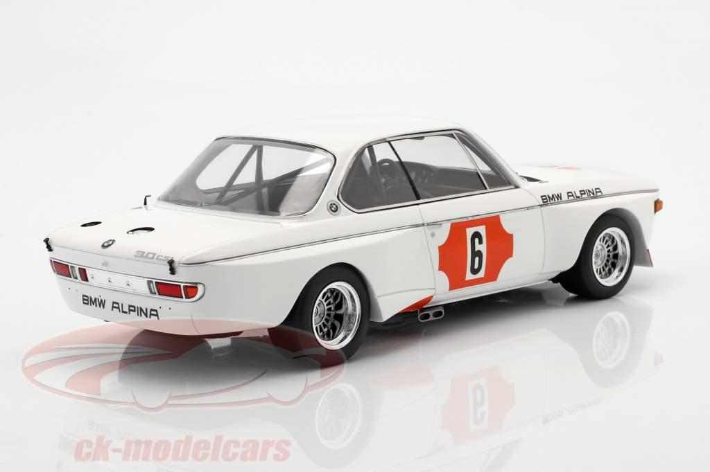 BMW 3.0 CSL #6 Vinder 4h Monza 1973 Lauda, Muir 1:18 Spark
