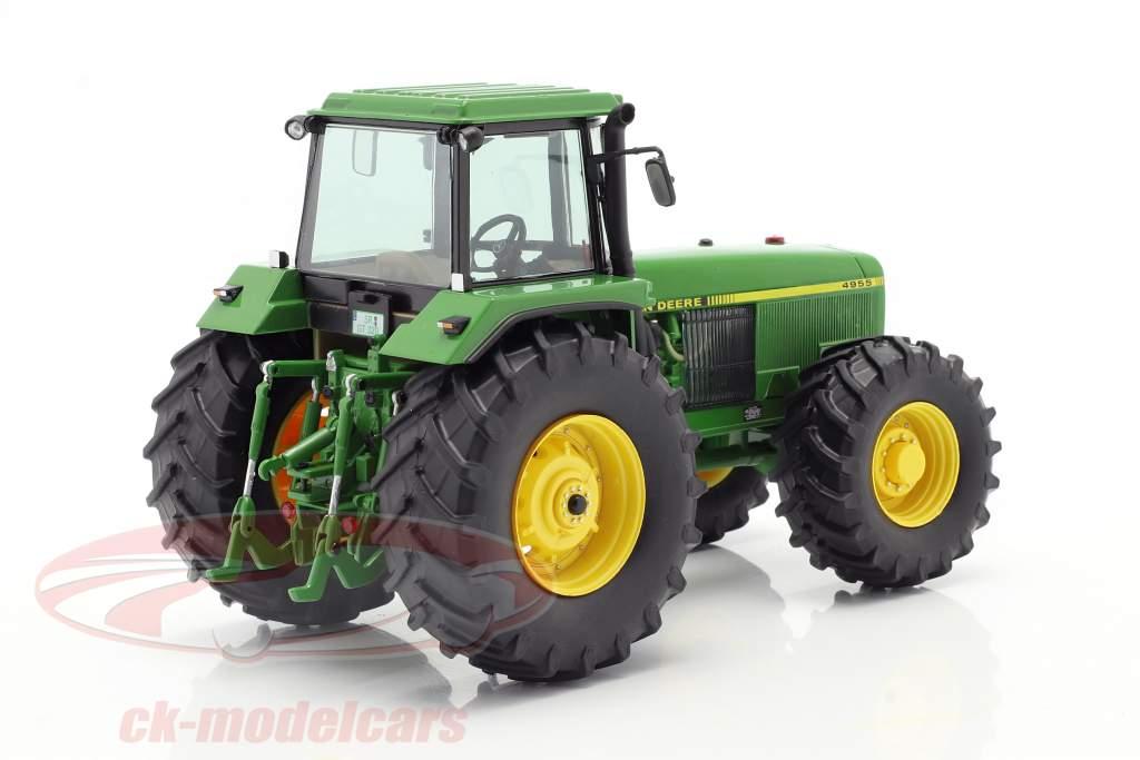 John Deere 4955 trator Ano de construção 1989-1992 verde 1:32 Schuco
