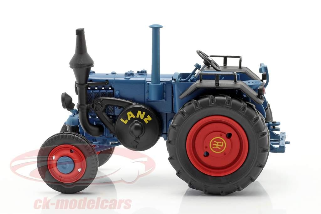 Lanz Bulldog Año de construcción 1936-1955 azul 1:32 Schuco