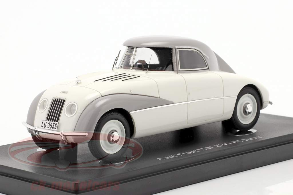 Audi Front UW 8/40 PS Jaray year 1934 white 1:43 AutoCult