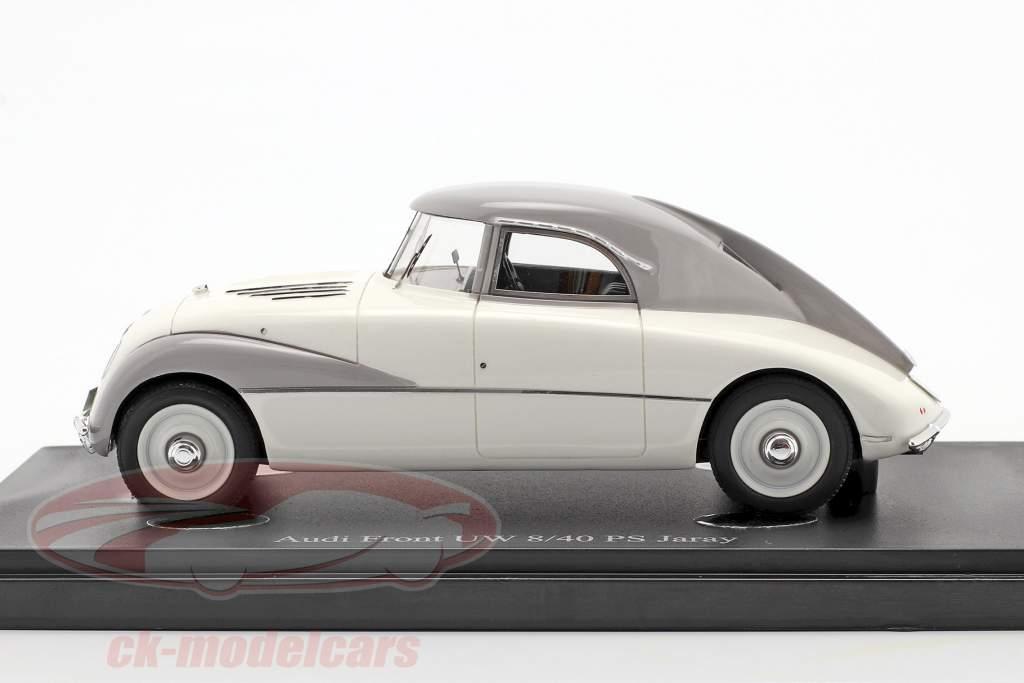 Audi Front UW 8/40 PS Jaray Année de construction 1934 blanc 1:43 AutoCult