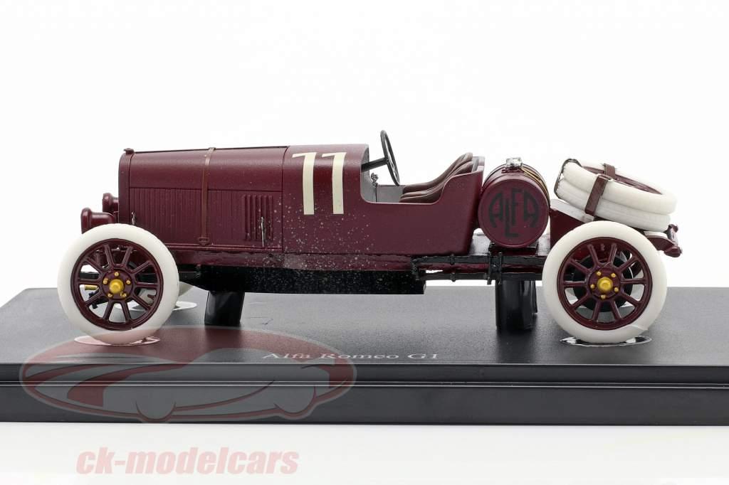 Alfa Romeo G1 Targa Florio #11 1921 buio rosso 1:43 AutoCult