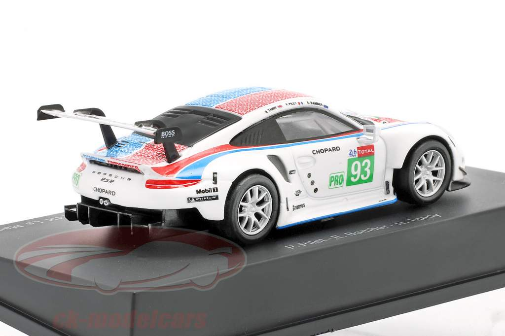 Porsche 911 RSR GTE #93 3º LMGTE Pro 24h LeMans 2019 Porsche GT Team 1:64 Spark