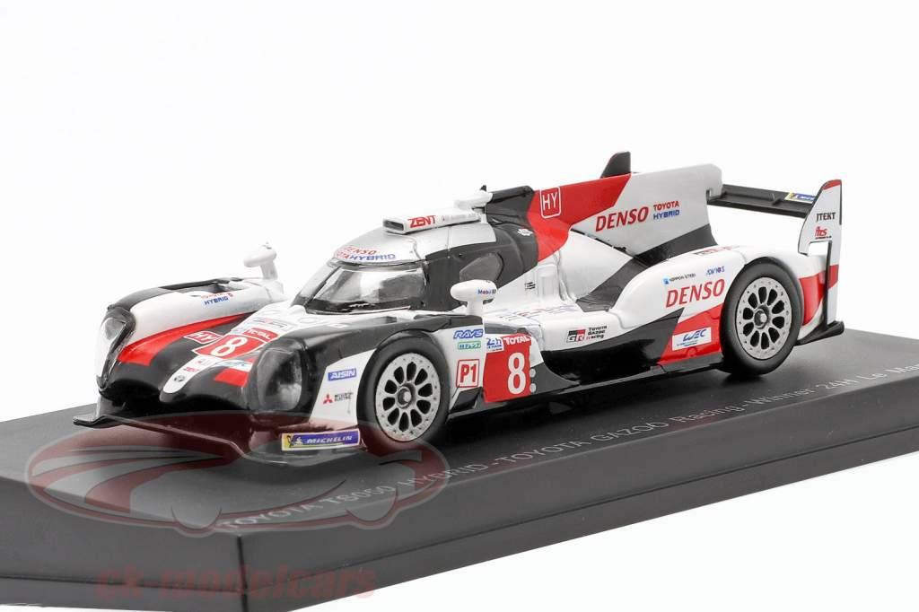 Toyota TS050 Hybrid #8 vinder 24h LeMans 2019 Buemi, Nakajima, Alonso 1:64 Spark