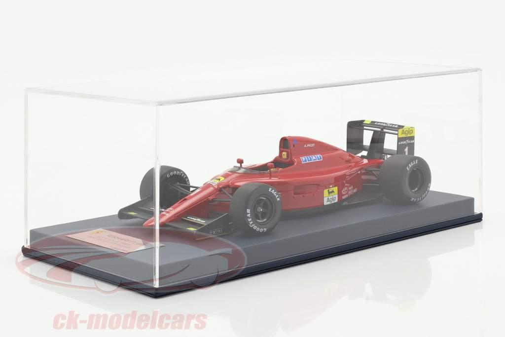 A. Prost Ferrari 641 #1 100th Ferrari Victory French GP F1 1990 1:18 LookSmart