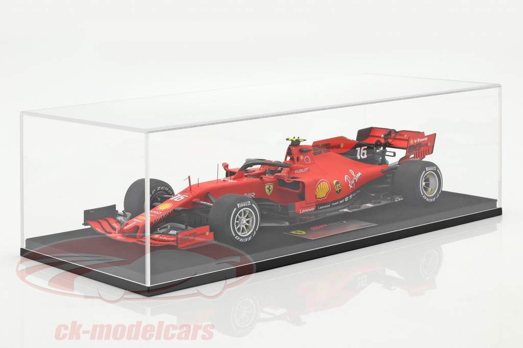 Charles Leclerc Ferrari SF90 #16 2nd Singapore GP formel 1 2019 1:18 LookSmart
