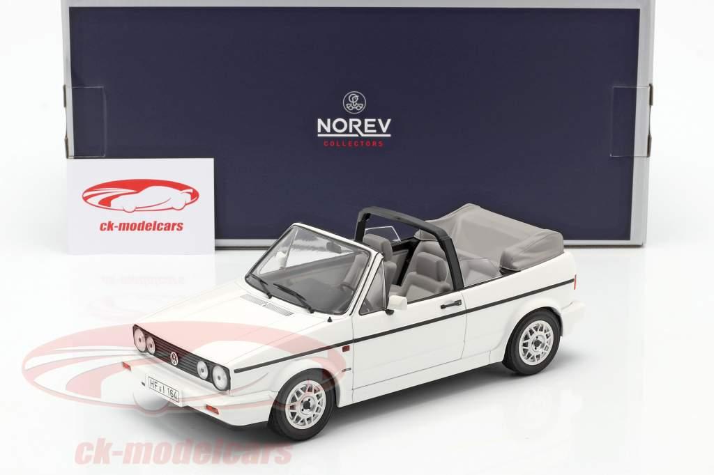 Volkswagen VW Golf 1 Cabriolé Año de construcción 1992 Blanco 1:18 Norev