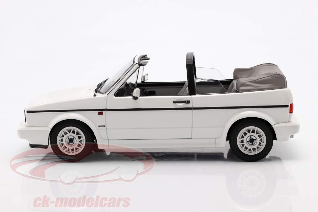 Volkswagen VW Golf 1 Cabriolet Baujahr 1992 weiß 1:18 Norev
