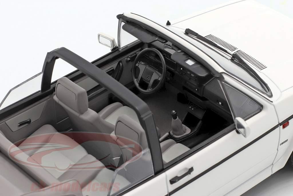 Volkswagen VW Golf 1 Cabriolet year 1992 white 1:18 Norev