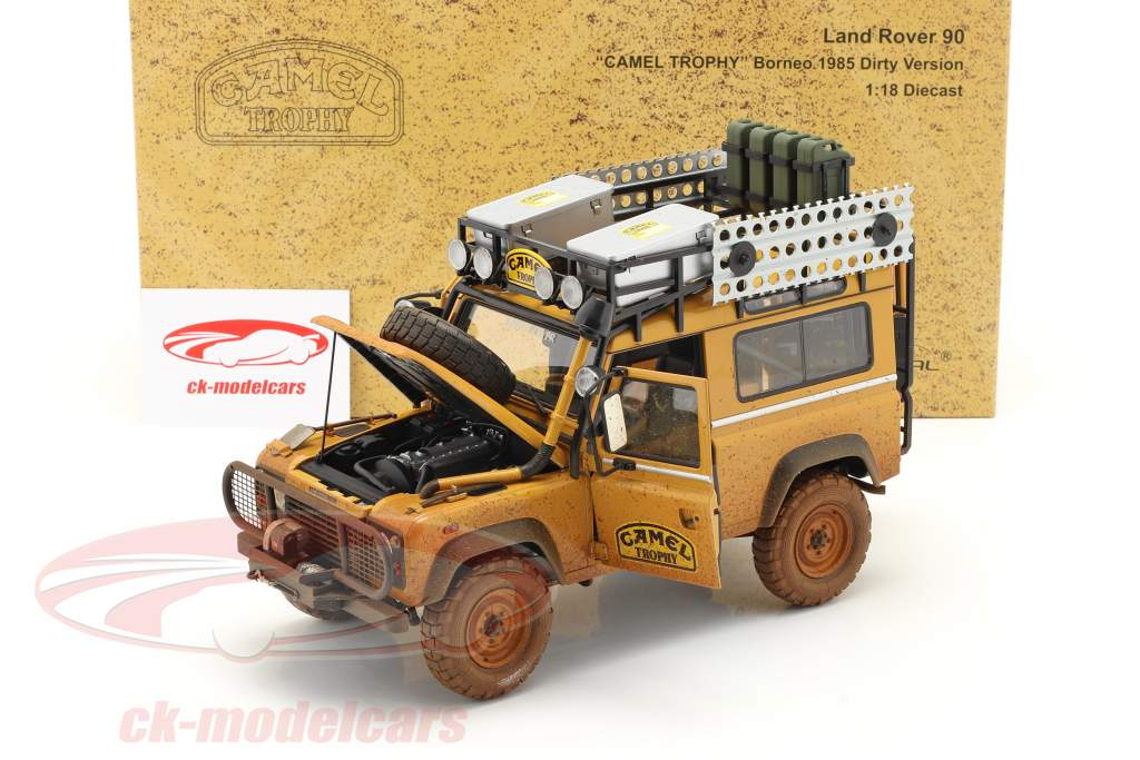 Land Rover Range Rover Camel Trophy Borneo 1985 Dirty Version 1:18 Almost Real