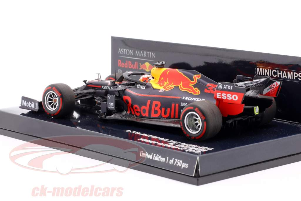 Max Verstappen Red Bull Racing RB15 #33 gagnant allemand GP F1 2019 1:43 Minichamps