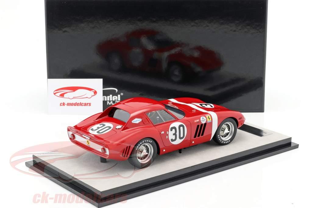 Ferrari 250 GTO 64 #30 Vencedor da classe 12h Sebring 1964 N.A.R.T. 1:18 Tecnomodel