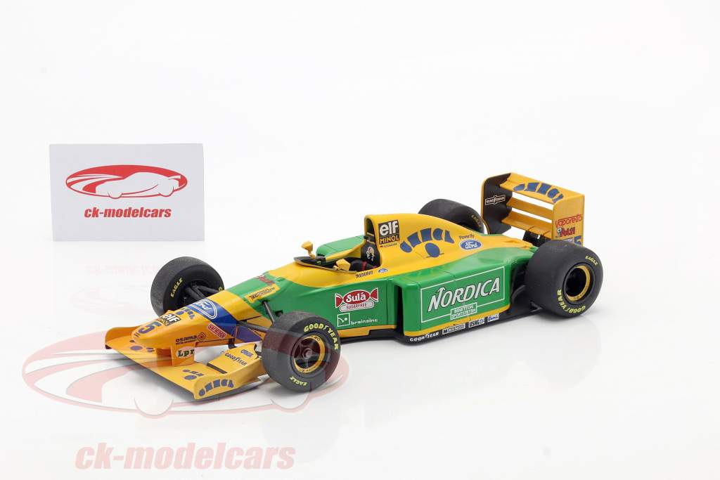 M. Schumacher Benetton B193 #5 winner Portugal GP F1 1993 1:18 Minichamps / 2nd choice