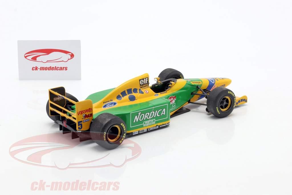 M. Schumacher Benetton B193 #5 gagnant le Portugal GP F1 1993 1:18 Minichamps / 2ème choix