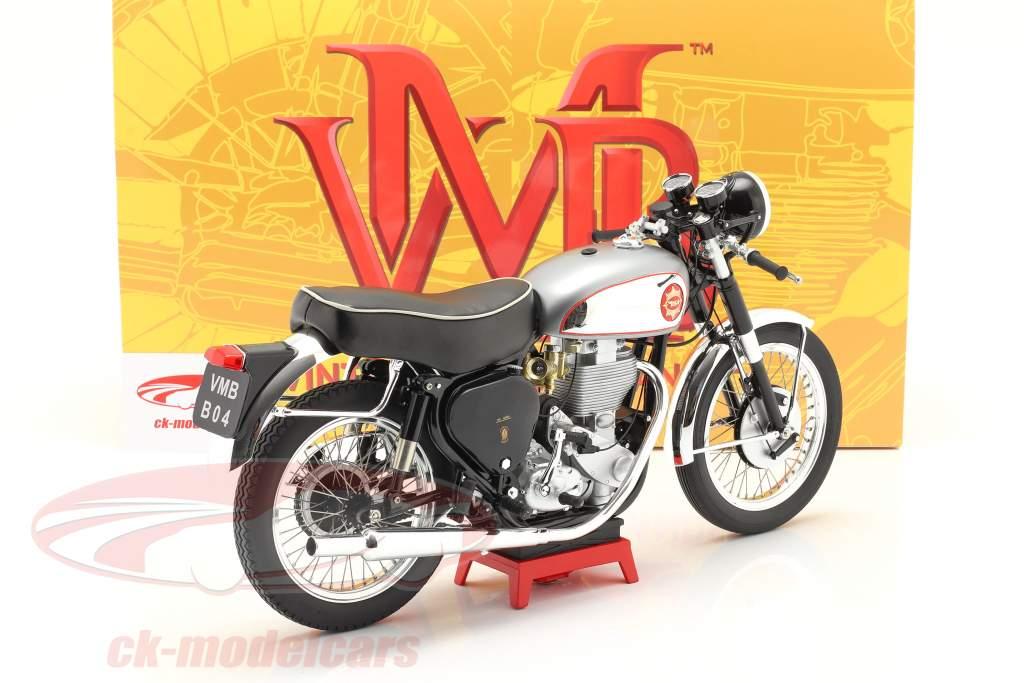 BSA Goldstar Clubman Año de construcción 1956 plata / negro 1:6 Vintage Motor Brands