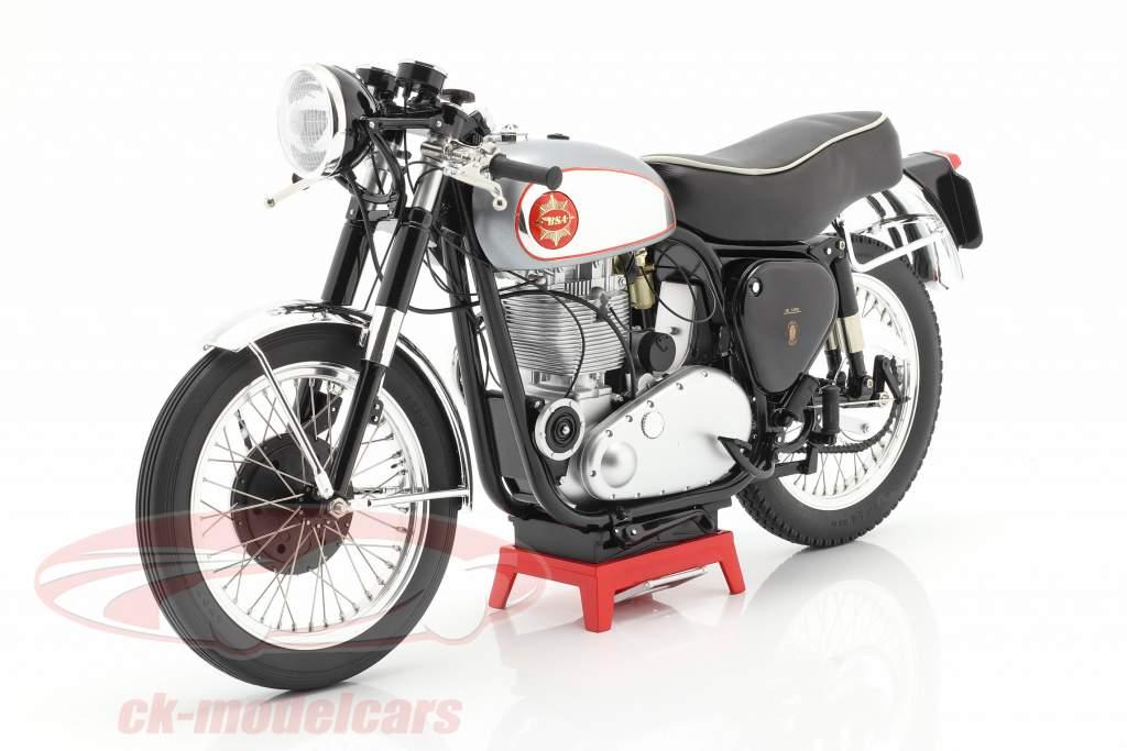 BSA Goldstar Clubman Anno di costruzione 1956 argento / nero 1:6 Vintage Motor Brands