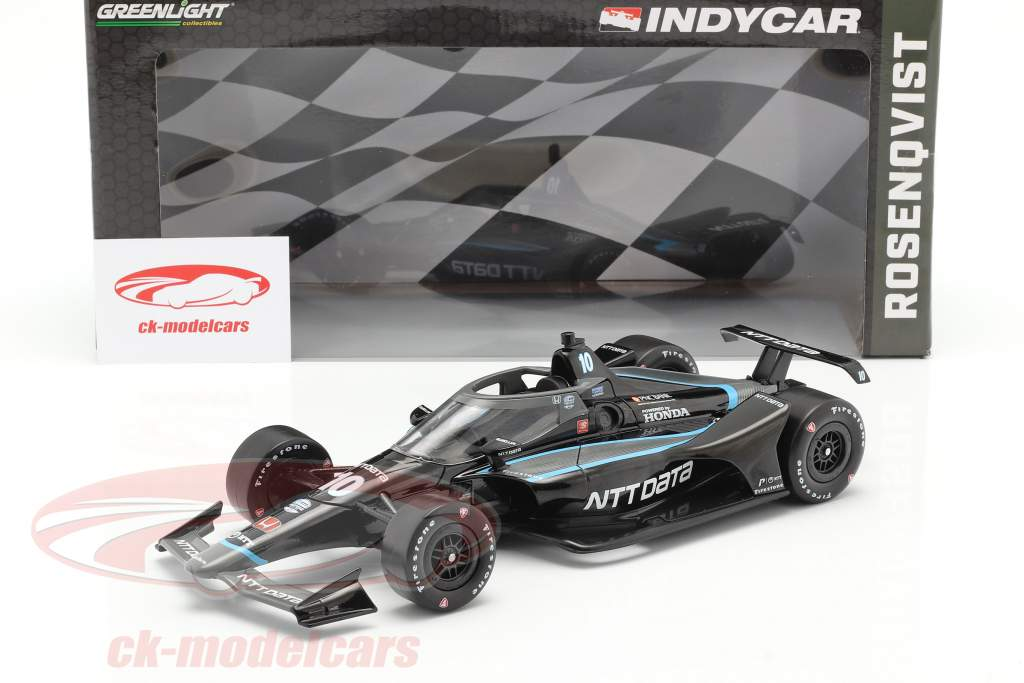 Felix Rosenqvist Honda #10 Indycar Series 2020 Chip Ganassi Racing 1:18 Greenlight
