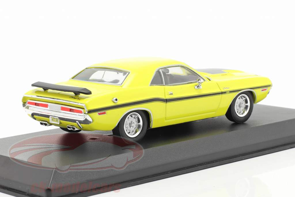 Dodge Challenger R/T 1970 TV-Serie NCIS (seit 2004) gelb 1:43 Greenlight
