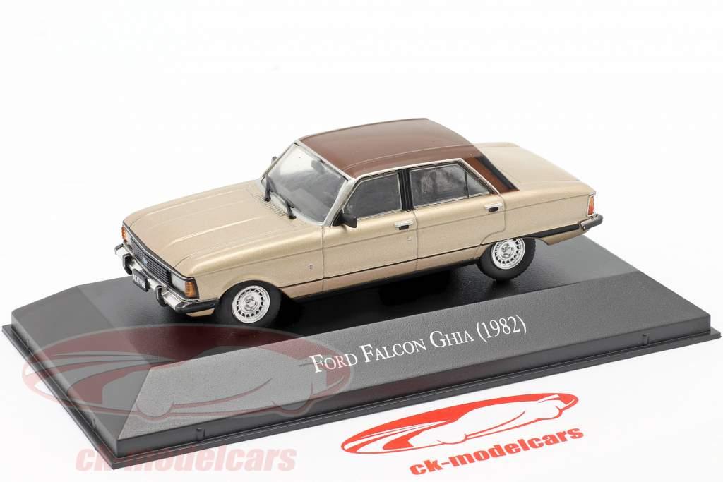 Ford Falcon Ghia Baujahr 1982 beige metallic / braun 1:43 Altaya