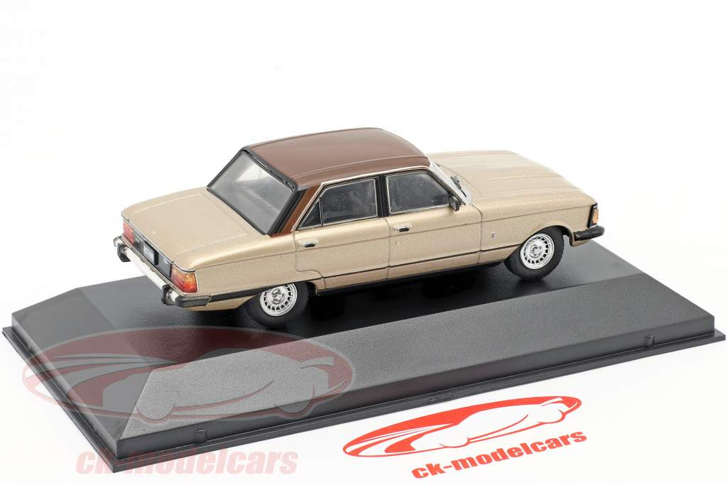 Ford Falcon Ghia Anno di costruzione 1982 beige metallico / Marrone 1:43 Altaya