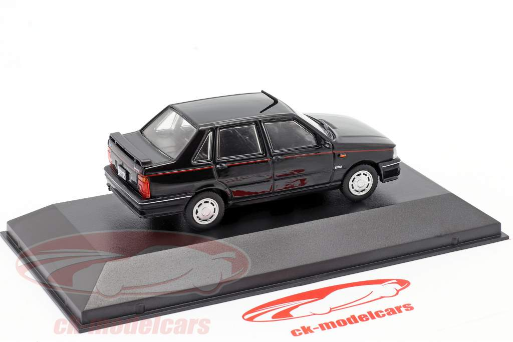 Fiat Duna SCX Año de construcción 1989 negro 1:43 Altaya