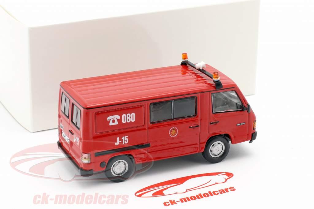 Mercedes-Benz MB180 Feuerwehr Saragossa rot 1:43 Altaya