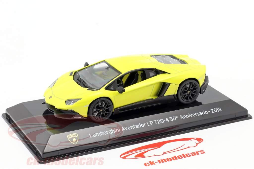 Lamborghini Aventador LP 720-4 50th Anniversary 2013 gelb 1:43 Altaya
