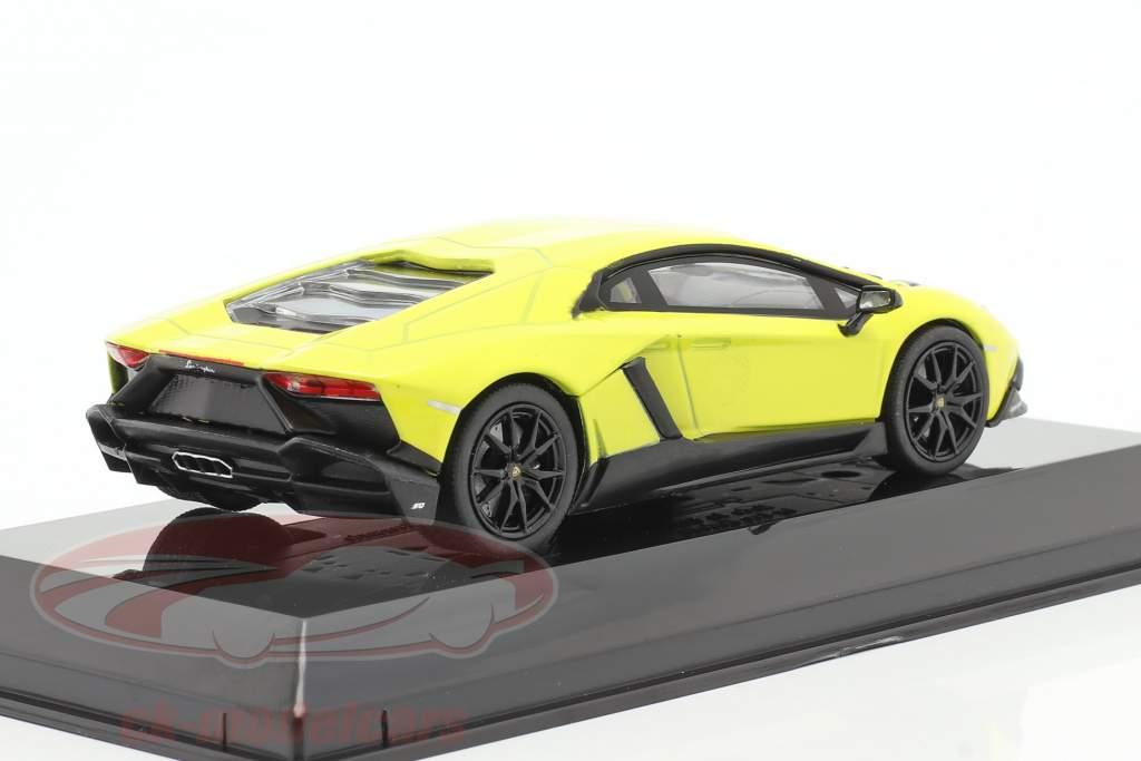 Lamborghini Aventador LP 720-4 50th Jubilæum 2013 gul 1:43 Altaya