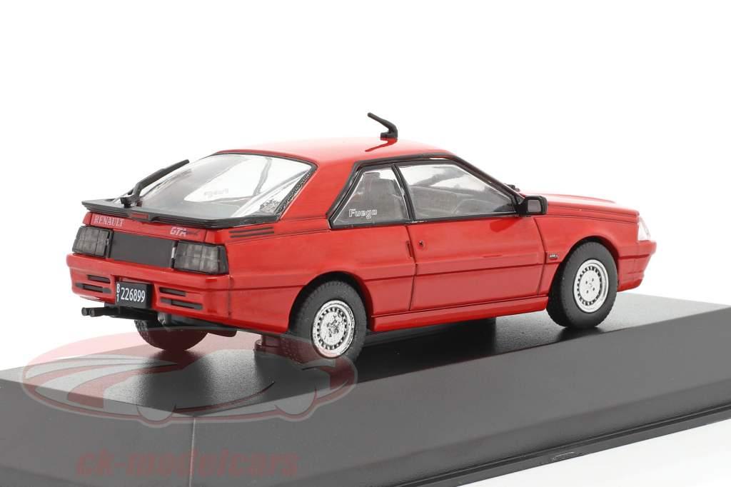 Renault Fuego GTA MAX year 1991 red 1:43 Altaya
