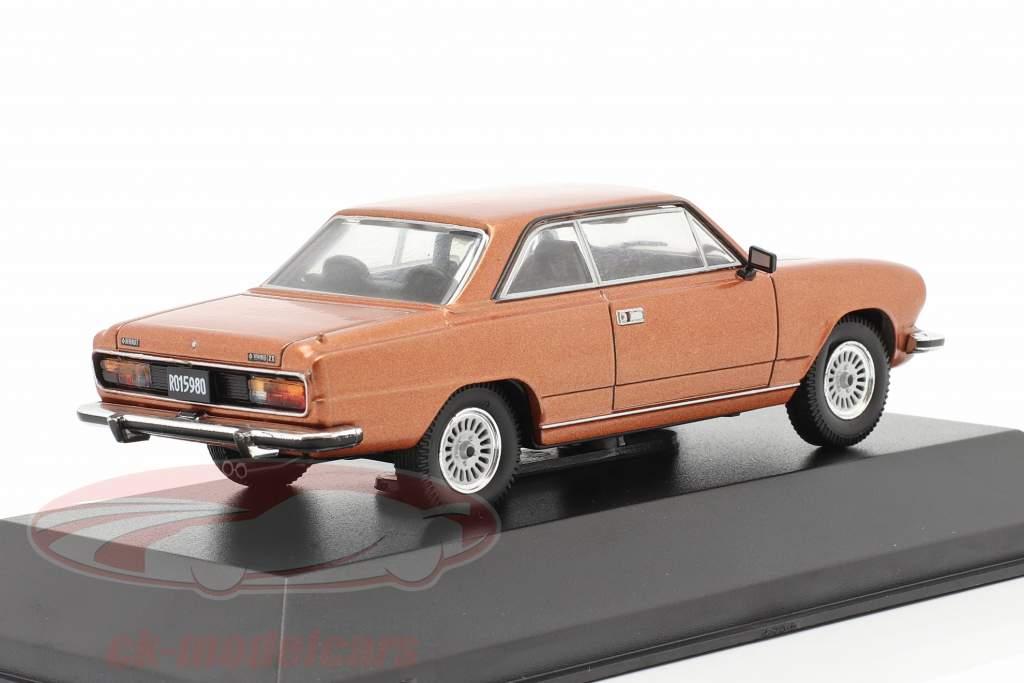 Renault Torino Zx Baujahr 1981 braun metallic 1:43 Altaya