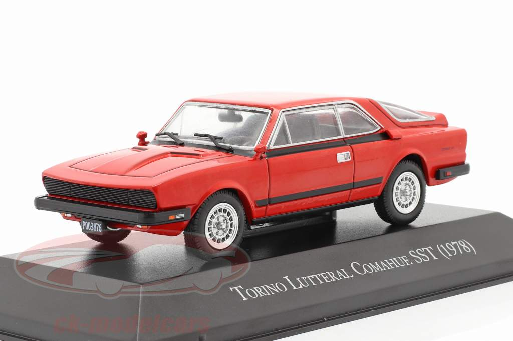 IKA Renault Torino Lutteral Comahue SST year 1978 red 1:43 Altaya