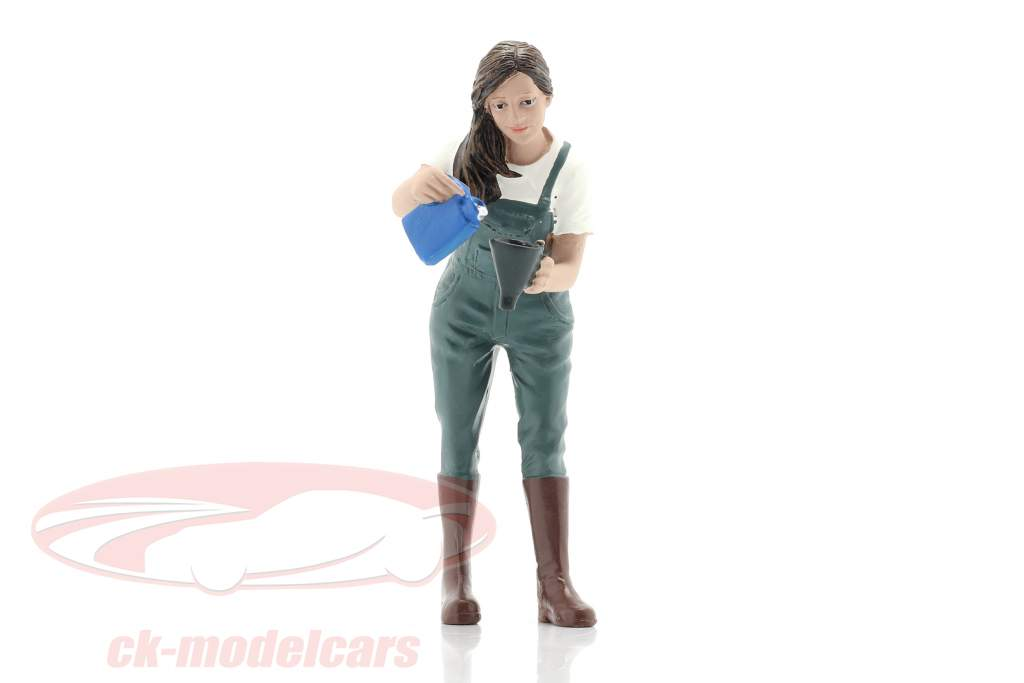 Car Girl Kylie figuur 1:18 American Diorama