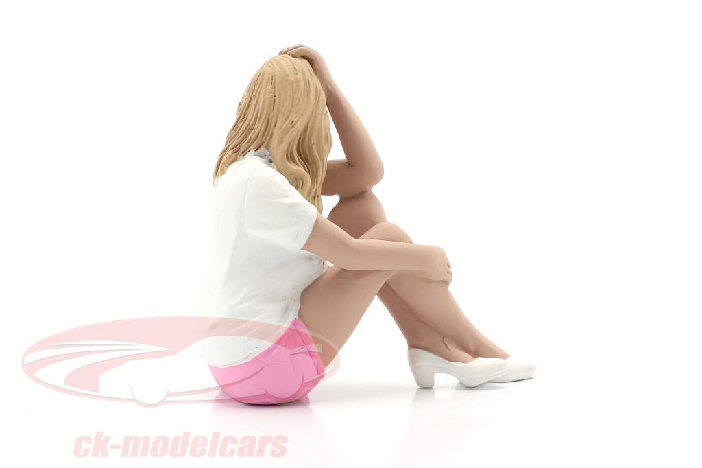 Car Girl Madee figure 1:18 American Diorama