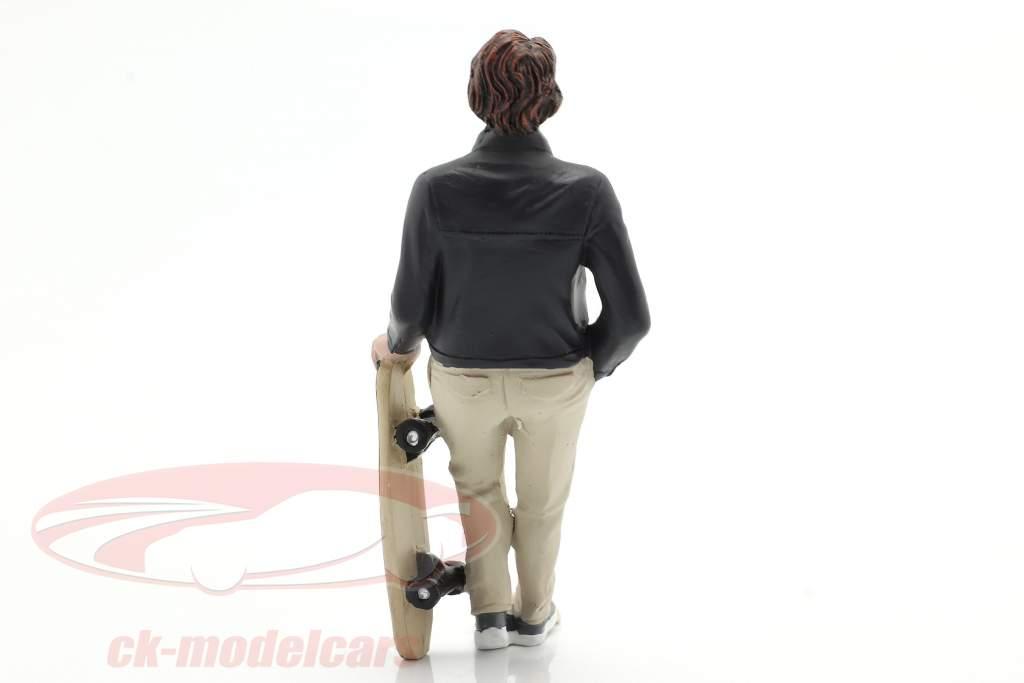 Skateboarder figur #3 1:18 American Diorama
