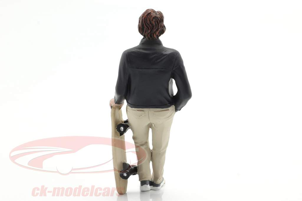 Skateboarder figuur #3 1:18 American Diorama
