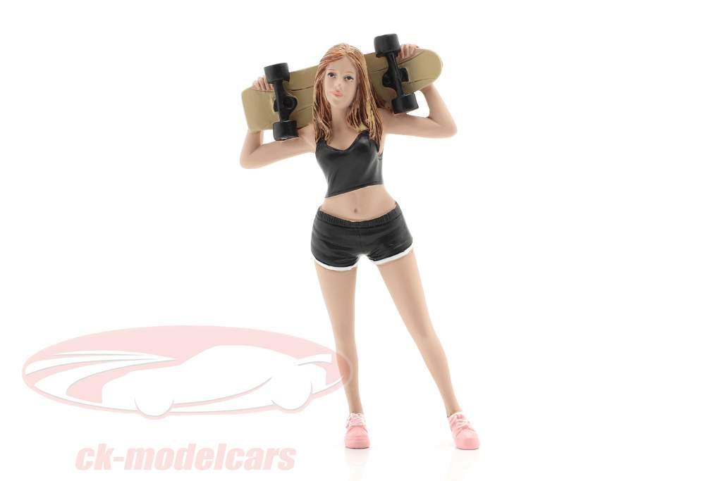 Skateboarder figuur #1 1:18 American Diorama