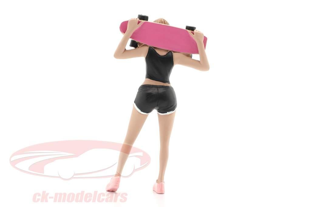 Skateboarder figura #1 1:18 American Diorama
