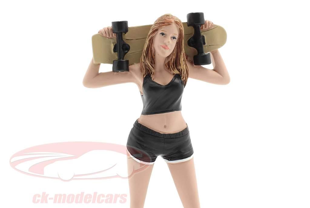 Skateboarder figure #1 1:18 American Diorama