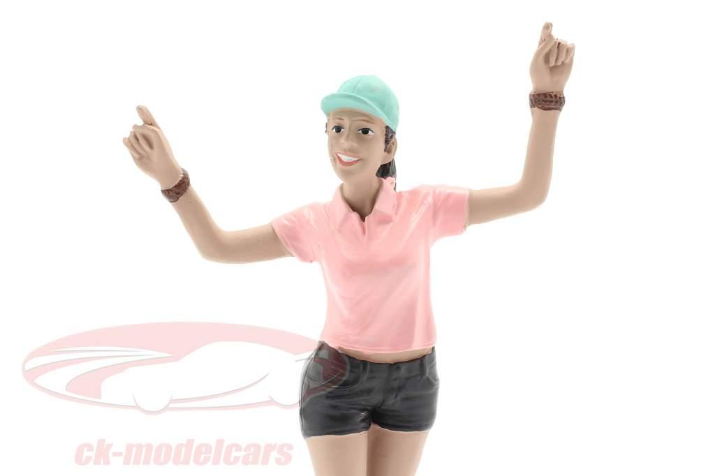 Skateboarder Figur #4 1:18 American Diorama