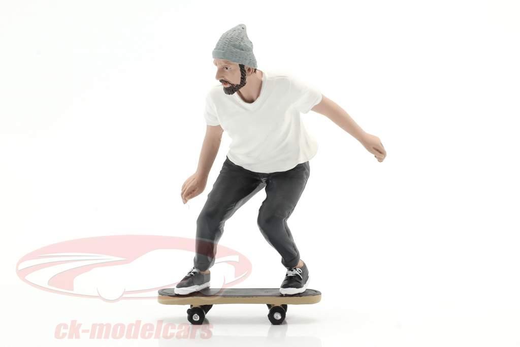 Skateboarder figur #2 1:18 American Diorama