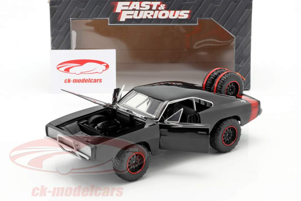 Dodge Charger R/T Offroad 年 1970 Fast and Furious 7 黒 1:24 Jada Toys